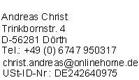 Impressum von GuenstigeLebensversicherung.de